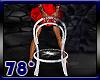 5 white ani club chairs