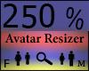 Any Avatar Size,250%