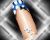 LTR Mini Blue SlndrNails