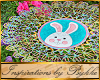 I~Easter Bunny Lace Mat