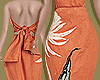 Orange Breeze Dress