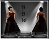BBW Noele gown Red