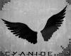-C- Angel Wings Deco blk