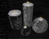 MLM Floor Candles Black