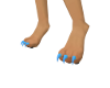 {LGS} Light Blue Paws