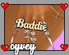 + baddie ring, right.