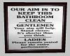 Cute bathroom sign 2
