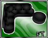 Blk Corner Couch [FT]