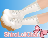 * Lacey Lolita Boots Wht