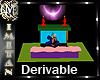 (MI) Derivable Fireplace