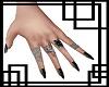 💀 Black nails