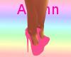 Diamond Pink Heels