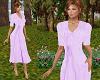TF* Purple Modest Dress