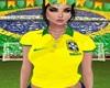 Blusa Brasil Amarelo
