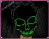 Neon Green Skull Mask F