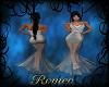 Romana Grey Gown