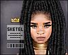 S| Akosua Locs Black