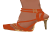 Cit-Burnt Orange Heels