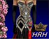 HRH Gothic Silk Sequins