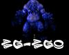 Epic Blue Giant DJ Light