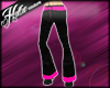 [Hot] Pink Flares