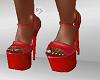 FG~ Red PVC Heels