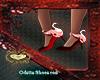 odette shoes red