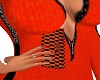 Orange Black hand purse