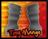 -TM- Grey Arm Warmers