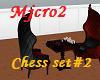 chess set chaire