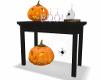 Halloween hall table