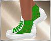 Green Fishnet Shoes