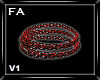 (FA)WaistChainsV1 Red