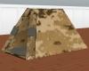 Tan DigitalCamo Pup Tent