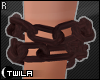 ☾ Rusty Wrist Chain R