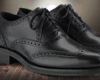 Vintage Black Oxford's
