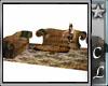 Steampunk Neo Sofa Set