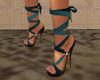 !Teal Sandals