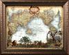 Tha African World Map