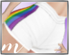 AM: Rainbow Pride Shorts