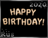 Rus: Happy Birthday Gold