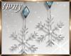 Glisten Snowflake Earr