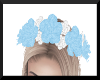 BlueWhite Headband