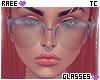 ®Tc. Light Grey Glasses