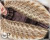Fancy Beige Fur Scarf