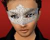White Venetian Mask