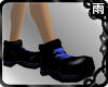 Ankle Length Boots Blue