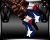 MaryJane Boots Tx Flag