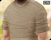 Beige Casual Roll Shirt