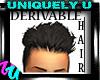 Male Hair Derivable Blk
